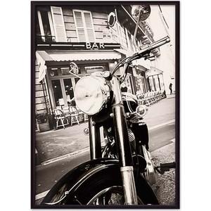 Постер в рамке Дом Корлеоне Мотоцикл винтаж 40x60 см