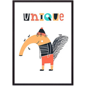 Постер в рамке Дом Корлеоне Муравьед Unique 30x40 см