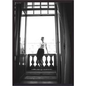 Постер в рамке Дом Корлеоне На балконе 40x60 см фото