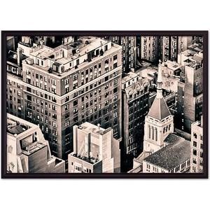 Постер в рамке Дом Корлеоне Над Манхэттеном 21x30 см фото