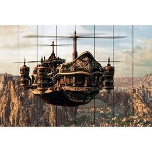 Картина на дереве Дом Корлеоне Небесный патруль 80x120 см