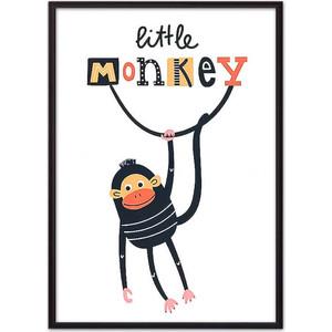 Постер в рамке Дом Корлеоне Обезьяна Little monkey 50x70 см