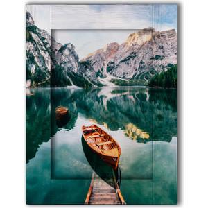 Картина с арт рамой Дом Корлеоне Озеро Брайес 45x55 см