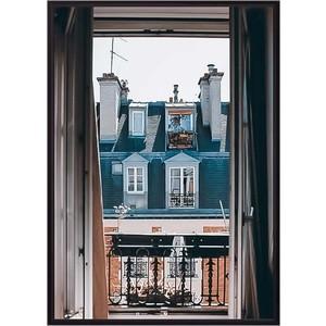 Постер в рамке Дом Корлеоне Окно Париж 30x40 см