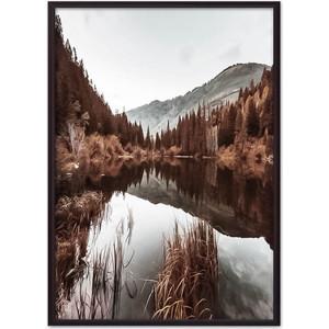 Постер в рамке Дом Корлеоне Осень в горах 40x60 см фото