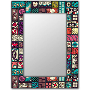 цена Настенное зеркало Дом Корлеоне Остин 55x55 см онлайн в 2017 году