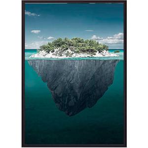 Постер в рамке Дом Корлеоне Остров 40x60 см хислоп в остров