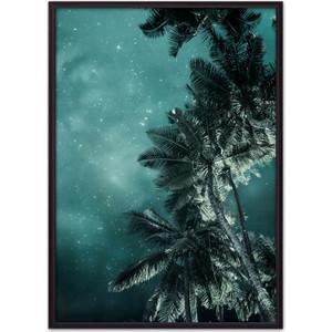 Постер в рамке Дом Корлеоне Пальмы ночью 21x30 см постер в рамке дом корлеоне анджелина джоли 21x30 см