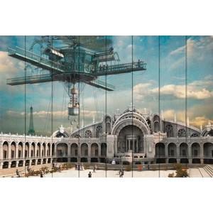 Картина на дереве Дом Корлеоне Париж 2084 100x150 см