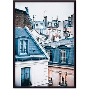 Постер в рамке Дом Корлеоне Парижские крыши 21x30 см постер в рамке дом корлеоне крыши париж 21x30 см