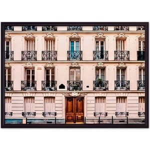 Постер в рамке Дом Корлеоне Парижские окна 50x70 см фото