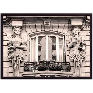 Постер в рамке Дом Корлеоне Парижский балкон 40x60 см софы на балкон