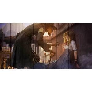 Картина на дереве Дом Корлеоне Паро-робот 70x140 см