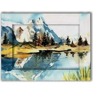 Картина с арт рамой Дом Корлеоне Пейзаж 45x55 см картина репродукция без рамки пейзаж 78 см х 80 см х 3 см