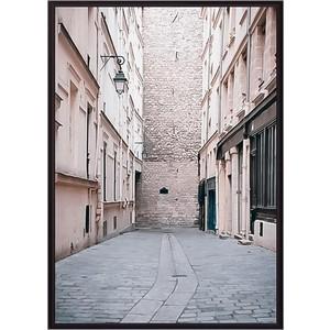 Постер в рамке Дом Корлеоне Переулок Париж 21x30 см постер в рамке дом корлеоне крыши париж 21x30 см