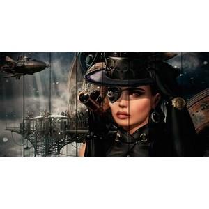 Картина на дереве Дом Корлеоне Пиратка 70x140 см