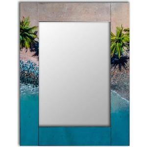 Настенное зеркало Дом Корлеоне Пляж 80x80 см фото