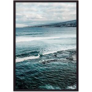 Постер в рамке Дом Корлеоне Побережье Австралии 40x60 см
