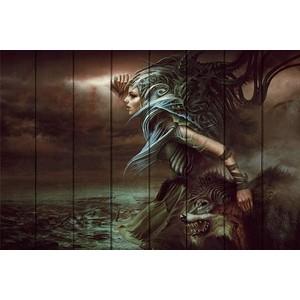 Картина на дереве Дом Корлеоне Повелительница стихии 80x120 см волынская е кащеев к повелительница грозы
