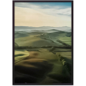 Постер в рамке Дом Корлеоне Поля 50x70 см