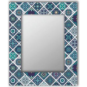Настенное зеркало Дом Корлеоне Португальская плитка 50x65 см