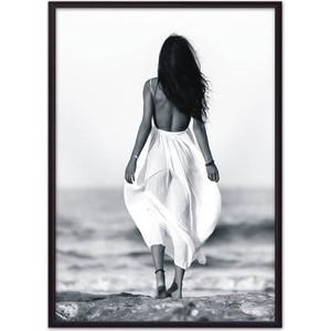 Постер в рамке Дом Корлеоне Прогулка по пляжу 21x30 см фото
