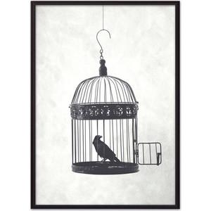 Постер в рамке Дом Корлеоне Птица в клетке 21x30 см фото