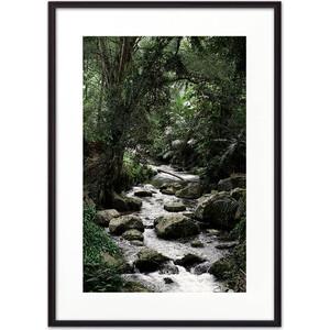 Постер в рамке Дом Корлеоне Река в джунглях 50x70 см