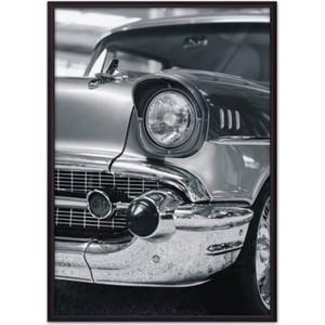 Постер в рамке Дом Корлеоне Ретро авто 30x40 см