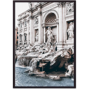 Постер в рамке Дом Корлеоне Римские окна 40x60 см фото