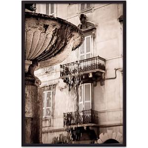 Фото - Постер в рамке Дом Корлеоне Римский фонтан 50x70 см фонтан