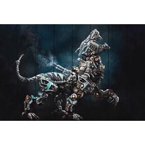 Картина на дереве Дом Корлеоне Робот Хищник 100x150 см хищник хищник 2 хищники коллекция фильмов 3 blu ray