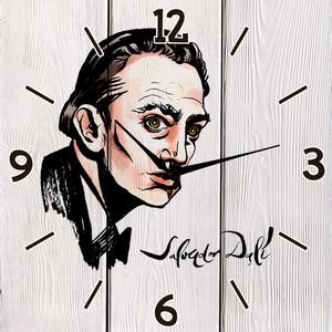 Настенные часы Дом Корлеоне Сальвадор Дали 60x60 см фото