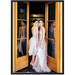 Фото - Постер в рамке Дом Корлеоне Светские львицы 50x70 см printio сила львицы