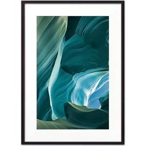 Постер в рамке Дом Корлеоне Синие песчаные пещеры 40x60 см
