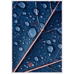 Постер в рамке Дом Корлеоне Синий лист 50x70 см