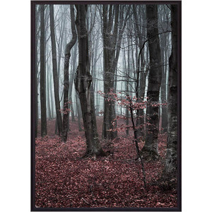 Постер в рамке Дом Корлеоне Сказочный лес 30x40 см ползунки детские веселый малыш one цвет розовый 33140 one сказочный лес размер 74