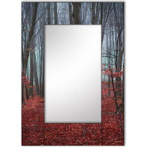 Настенное зеркало Дом Корлеоне Сказочный лес 65x65 см ползунки детские веселый малыш one цвет розовый 33140 one сказочный лес размер 74