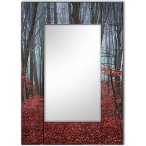 Настенное зеркало Дом Корлеоне Сказочный лес 75x110 см ползунки детские веселый малыш one цвет розовый 33140 one сказочный лес размер 74