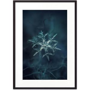 Постер в рамке Дом Корлеоне Снежинка 30x40 см