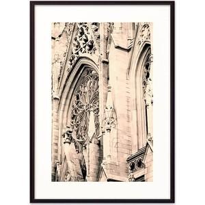 Постер в рамке Дом Корлеоне Собор Св. Патрика Нью-Йорк 21x30 см фото