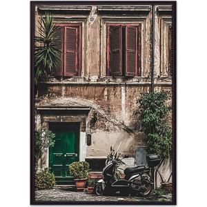 Постер в рамке Дом Корлеоне Старинный дом Рим 21x30 см