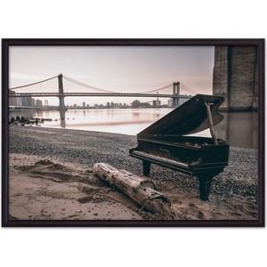 Постер в рамке Дом Корлеоне Старый рояль 30x40 см