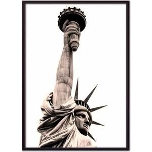Постер в рамке Дом Корлеоне Статуя Свободы 50x70 см