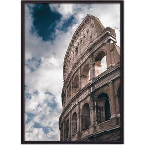 Постер в рамке Дом Корлеоне Стена Колизея 30x40 см постер в рамке дом корлеоне профиль 30x40 см