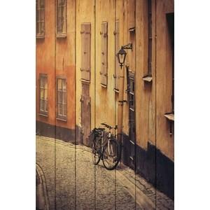 Картина на дереве Дом Корлеоне Стокгольм 80x120 см стокгольм