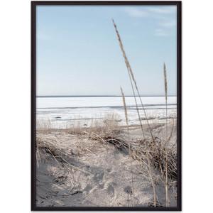 Постер в рамке Дом Корлеоне Трава на пляже 50x70 см