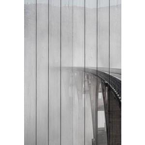 Картина на дереве Дом Корлеоне Туман 80x120 см