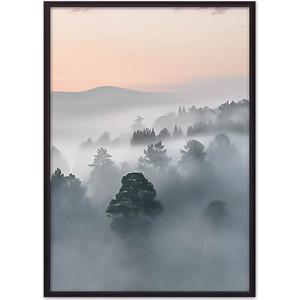 Постер в рамке Дом Корлеоне Туманное утро 40x60 см фото