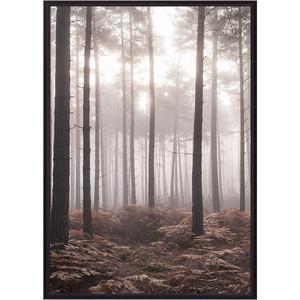 Постер в рамке Дом Корлеоне Туманный лес 30x40 см
